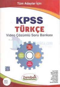 Tüm Adaylar İçin KPSS Türkçe Video Çözümlü Soru Bankası
