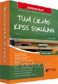 Tüm Çıkmış KPSS Soruları Eğitim Bilimleri 2010