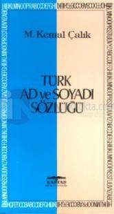 Türk Ad ve Soyadı Sözlüğü