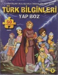 Türk Bilginleri Yap Boz 50 Parça Puzzle
