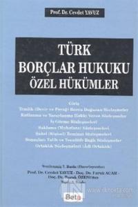 Türk Borçlar Hukuku Özel Hükümler (Ciltli)