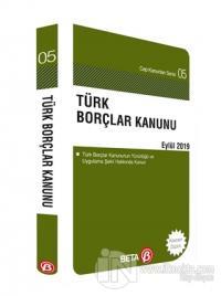 Türk Borçlar Kanunu Eylül 2019