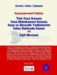 Türk Ceza Kanunu Ceza Muhakemesi Kanunu Ceza ve Güvenlik Tedbirlerinin İnfazı Hakkında