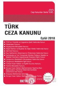 Türk Ceza Kanunu (Eylül 2018)