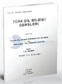 Türk Dil Bilgisi Dersleri Birinci Kısım