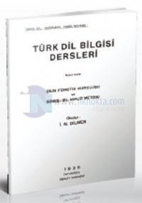Türk Dil Bilgisi Dersleri İkinci Kısım