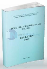 Türk Dili Araştırmaları Yıllığı - Belleten 1997