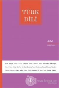 Türk Dili Dergisi Sayı: 806 Şubat 2019 Kolektif