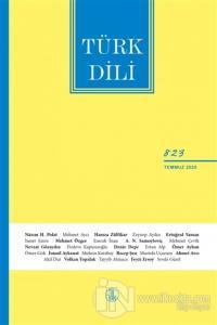 Türk Dili Dergisi Sayı: 823 Temmuz 2020 Kolektif