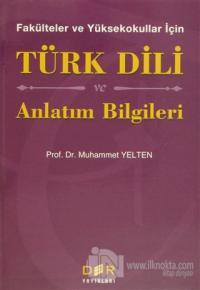 Türk Dili ve Anlatım Bilgileri
