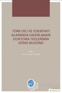 Türk Dili ve Edebiyatı Alanında Hazırlanan  Doktora Tezlerinin Dünü Bugünü