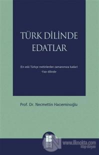 Türk Dilinde Edatlar