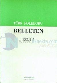 Türk Folkloru Belleten 1987/1-2