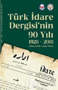 Türk İdare Dergisi'nin 90 Yılı