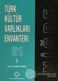 Türk Kültür Varlıkları Envanteri - 51 Niğde (2 Cilt Takım) (Ciltli)