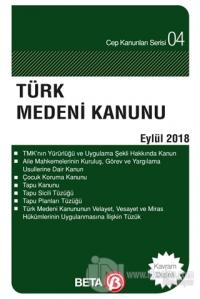 Türk Medeni Kanunu (Eylül 2018)