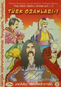 Türk Ozanları 1 Hikayeli Boyama Kitabı 8