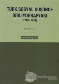 Türk Sosyal Düşünce Bibliyografyası (1729-1928)