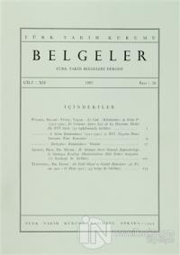Türk Tarih Belgeleri Dergisi Sayı: 16 Cilt: 12 (Ciltli)