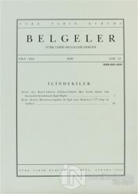 Türk Tarih Belgeleri Dergisi Sayı: 25 Cilt: 21