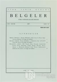 Türk Tarih Belgeleri Dergisi Sayı: 32 Cilt: 28
