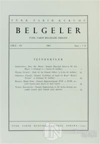 Türk Tarih Belgeleri Dergisi Sayı: 7 - 8 Cilt: 4