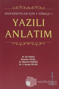 Türkçe 1 - Yazılı Anlatım