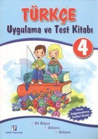 Türkçe 4 - Uygulama ve Test Kitabı