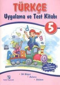 Türkçe 5 - Uygulama ve Test Kitabı