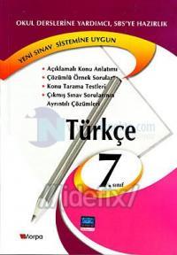 7.Sınıf Kitapları Türkçe 7