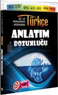 Türkçe Anlatım Bozukluğu Soru Bankası Kapadokya Yayınları 2015