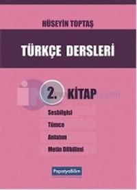 Türkçe Dersleri 2. Kitap Hüseyin Toptaş