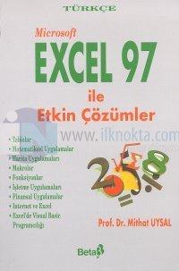 Türkçe Microsoft Excel 97 ile Etkin Çözümler