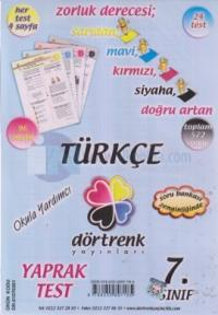 Dörtrenk 7. Sınıf Türkçe Y.T.