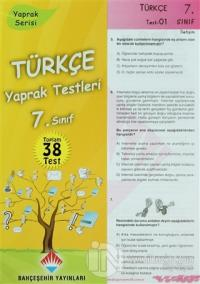 Türkçe Yaprak Testleri 7. Sınıf
