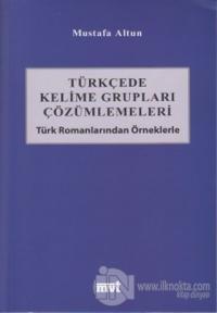 Türkçede Kelime Grupları Çözümlemeleri
