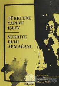 Türkçede Yapı ve İşlev