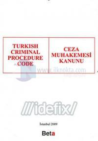 Turkish Criminal Prosedure Code / Ceza Muhakemesi Kanunu