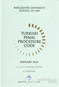 Turkish Penal Procedure Code (Ciltli)