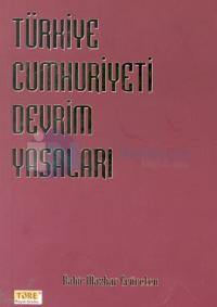 Türkiye Cumhuriyeti Devrim Yasaları