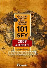 Türkiye'de Ölmeden Önce Yapmanız Gereken 101 Şey 2009 Ajandası