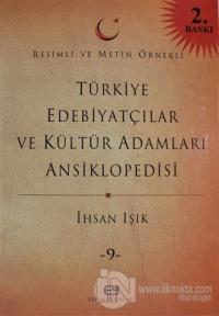 Türkiye Edebiyatçılar ve Kültür Adamları Ansiklopedisi Cilt: 9 (Ciltli)