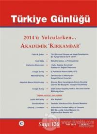 Türkiye Günlüğü Dergisi Sayı: 120