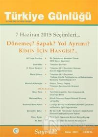 Türkiye Günlüğü Dergisi Sayı : 122