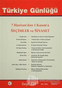 Türkiye Günlüğü Dergisi Sayı : 124 Güz 2015