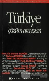Türkiye Sorunlarına Çözüm Arayışları Pera Palas Toplantılarından Seçmeler (1987-1994)