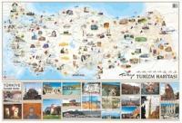 Türkiye Turizm Haritası (70x100)