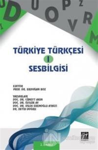 Türkiye Türkçesi 1 - Ses Bilgisi