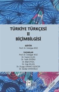 Türkiye Türkçesi 2 Biçimbilgisi