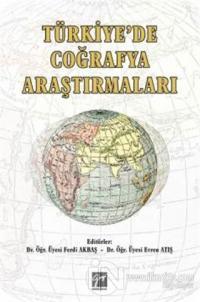 Türkiye'de Çoğrafya Araştırmaları